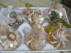 Treasure filled memories Christmas ornaments