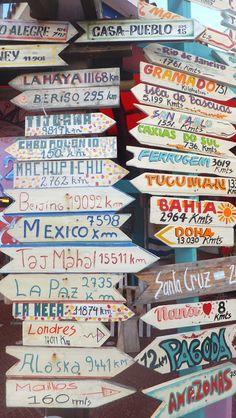 Dónde vamos?  Viajes, lugares de la Argentina y del mundo
