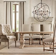 Exceptionnel Salvaged Wood Trestle Table From Restoration Hardware | New House Ideas |  Pinterest | Trestle Tables, Restoration Hardware And Restoration