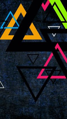 Triangles IPhone 5s Wallpaper