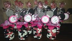 Mickey Mouse Baby Food Jar Party Favors by Stinkystuffs on Etsy Mickey Mouse Baby Shower, Minnie Mouse Theme, Pink Minnie, Baby Mouse, Mini Mouse, Baby Girl Birthday Decorations, Baby Boy Birthday, Birthday Favors, 2nd Birthday