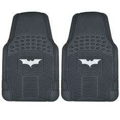 Warner Brothers BDK Batman Floor Mats 2-Piece Dark Night Officially Licensed Products