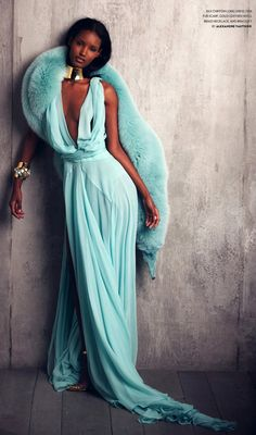From Flaunt Magazine ...nice color for my wedding dress..ick~
