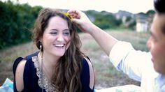 sweet moment. Love Texas sunflowers!