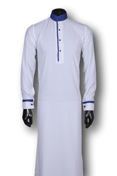 Kufnees Design 4090 Colour White African Attire For Men, African Clothing For Men, Mens Designer Shirts, Designer Clothes For Men, Jubbah Men, Pathani For Men, Muslim Fashion, Mens Fashion, Shirt Collars