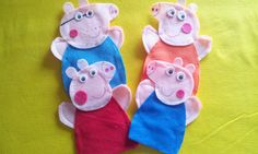 Hey, I found this really awesome Etsy listing at https://www.etsy.com/listing/188862618/peppa-pig-felt-hand-puppets