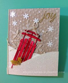 InkyPinkies: Watercolor Winter Simply Created Kit - Sneak Peek at Stampin Up Holiday Catty 2014!