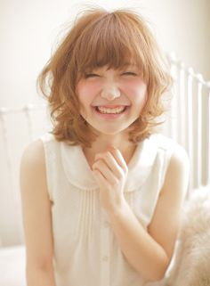 リラックスセミディ  【MODE K's 梅田店】 http://beautynavi.woman.excite.co.jp/salon/21585?pint ≪ #bobhair #bobstyle #hairstyle #bobhairstyle・ボブ・ヘアスタイル・髪形・髪型≫