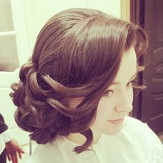 Fashionable Wedding Hairstyles. To see more: http://www.modwedding.com/2014/03/24/fashionable-wedding-hairstyles/ #wedding #weddings #fashion #updo #hair #hairstyle