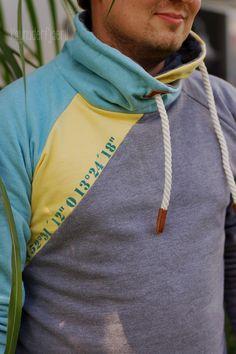 """Zum Geburtstag wollte ich meinem """"kleinen"""" Bruder gerne ein Shirt nähen , denn einen Hoodie hatte er bereits im letzten J ahr von uns bekomm..."""