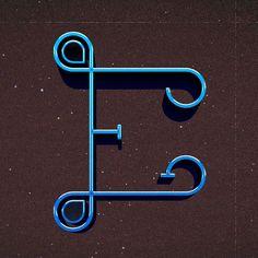 E for @36daysoftype #36daysoftype #36days_E #latepost by annisaluthfiasari