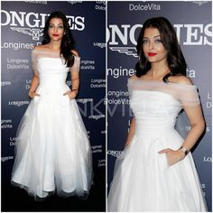 Style Story : One Aishwarya Rai, Three Toni Maticevski dresses Bollywood Dress, Bollywood Fashion, Celebrity Dresses, Celebrity Style, Fashion Story, Fashion Outfits, Frocks And Gowns, Frock For Women, World Most Beautiful Woman