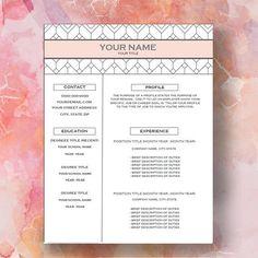 Letter Header Format Best Modern Triangle Monogram Resume And Cover Letter Template Lavender .
