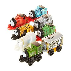 Fisher Price CHL92 Thomas  Friends Minis 8 pack Train >>> Continue to the product at the image link-affiliate link. Baby Toys Sale, Toy Sale, Amazon Sale, Mini 8, Thomas And Friends, Baby Games, Toys R Us, Fisher Price, Toddler Toys