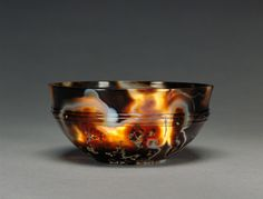 Agate bowlRoman Egypt,  1st - 2nd century  ADSource: The J. Paul Getty Museum