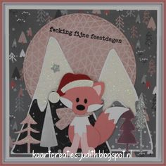 Kerst vos 5 Kerstman Eline's cute fox Passe partouts Trees by Marleen Eline's Snowflake kisses Mountains by Marleen Sneeuwpapier Papier Zilver Metallic paper - Light Pink Soft Glitter paper - Zilver Soft Glitter paper - Light pink Foute Kerst Paper Light, Metallic Paper, Cute Fox, Marianne Design, Snowflakes, Pink, Glitter, Christmas Ornaments, Holiday Decor