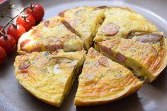 Ein schnelles, einfaches und deftiges Gericht, das extrem wenige Kohlenhydrate enthält! Sieht nicht nur lecker aus, schmeckt auch so! #Frittata
