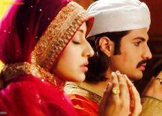 Rajat Tokas and Paridhi Sharma as Akbar and Jodha