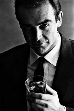 Sean Connery (b. full name, Sir Thomas Sean Connery, is a Scottish actor best known for portraying James Bond in 7 Bond films between Classic Hollywood, Old Hollywood, Hollywood Glamour, Hollywood Stars, Gorgeous Men, Beautiful People, Beautiful Boys, Photo Star, Man Photo