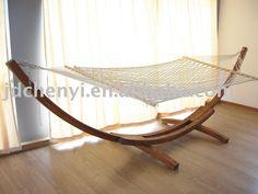 Outdoor Furniture,wooden Hammock,garden Furniture - Buy Wood Hammock,outdoor…