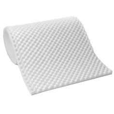 N Lightweight 1-inch Convoluted Foam Mattress Topper