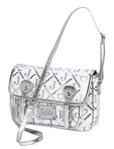 Initial Logo purses are so hot right now and your daughter can get in the trend with this Satchel from Justice