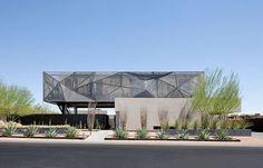 Uma casa oásis no deserto de Nevada
