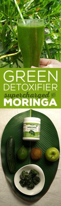 Clean Green Moringa Detox Smoothie