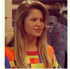 """Candace Cameron as """"DJ"""" in Full House. Candace Cameron Bure, Candace Cameron Full House, Full House Dj Tanner, Dj Full House, Dj Photos, It's All Happening, Fuller House, Princess Girl, Space Princess"""
