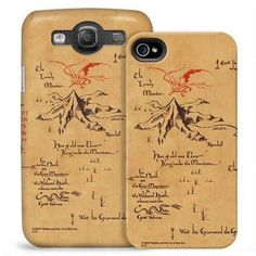 "Thorin's Map Phone Case | Community Post: 16 Perfect Gifts Every Fan Of ""The Hobbit"" Should Own"