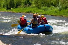 Enjoy whitewater rafting in Colorado during your stay in Vail and Beaver Creek.
