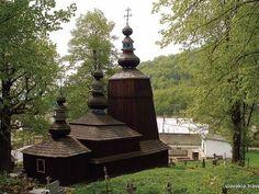 Hunkovce - Kostol Usnutia Presvätej Bohorodičky - Drevené kostoly - Slovakia.travel Homeland, Fountain, Castle, Gallery, Outdoor Decor, Pictures, Image, Beautiful, Photos