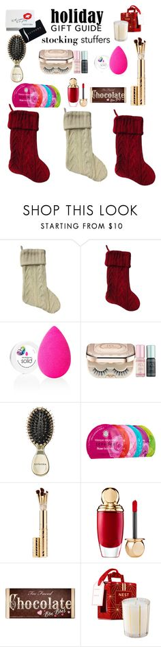 """""""Stocking stuffers"""" by ellenfischerbeauty ❤ liked on Polyvore featuring beautyblender, Sephora Collection, Too Faced Cosmetics, giftguide, polyvoreeditorial and polyvorecontest"""