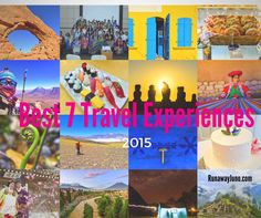 Best 7 Travel Experiences of 2015