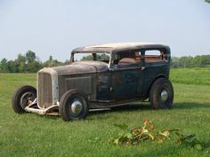 More vintage cars, hot rods, and kustoms Submit. Classic Hot Rod, Classic Cars, Fancy Cars, Cool Cars, Vintage Cars, Antique Cars, Rat Rod Cars, Traditional Hot Rod, Ford Models