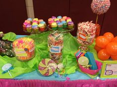 Candy, Candyland, Candy Land, 1st birthday, colorful, sweet party, rainbow party, Sweets Birthday Party Ideas | Photo 12 of 59 | Catch My Party