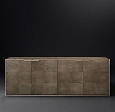 Smythson Shagreen 4-Door Sideboard