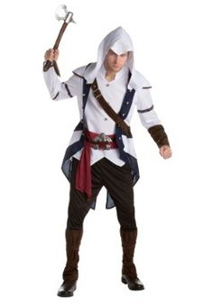 Assassins Creed: Connor Classic Adult Costume - #halloweencostumes #Halloween #Coupons #Deals