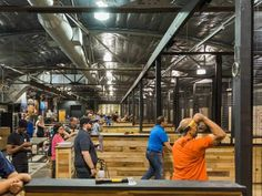 LumberJaxes is opening an axe-throwing brewpub in Cranberry, along wiht an additional location in Monroeville. Bodega Bar, Throwing Axe, Brew Pub, Shooting Range, Activity Centers, Square Feet, Pittsburgh, Warehouse, Lounge