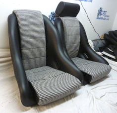 old corvette seats, old motorcycle seats, old jeep seats, old volvo seats, on porsche seats old blue
