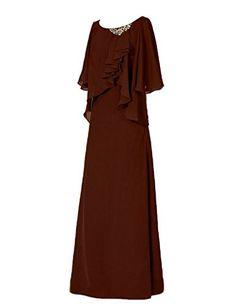 H.S.D Cap Sleeves Beads Chiffon Mother of the Bride Dress... https://www.amazon.com/dp/B01GJMY9MM/ref=cm_sw_r_pi_dp_b6lGxb9KD46EC