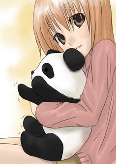 Shared by meowngi. Find images and videos about anime girl and panda on We Heart It - the app to get lost in what you love. Kawaii Anime, Panda Kawaii, Niedlicher Panda, Panda Love, Kawaii Cute, Panda Anime Girl, Girls Anime, Anime Art Girl, Panda Wallpapers