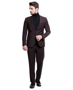 Toss Erkek Takım Elbise - Bordo #gentleman #suit #takımelbise #karaca #ciftgeyikkaraca  www.karaca.com.tr