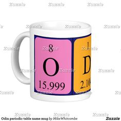 Laura periodic table name mug september 2016 purchases form my odin periodic table name mug urtaz Image collections