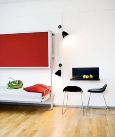10 Small Space Solutions from Hotels. Logeerkamer.