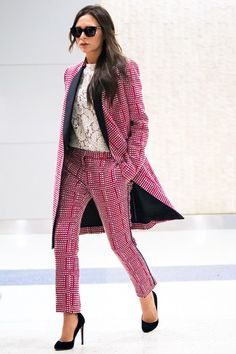 Victoria Beckham Raises The Bar For Travel Wear, Yet Again #refinery29  http://www.refinery29.com/2015/06/88419/victoria-beckham-longline-jacket-outfit#slide-1  Victoria Beckham landed at JFK on Sunday the only way she knows how: by making everyone else in the terminal feel decidedly underdressed.