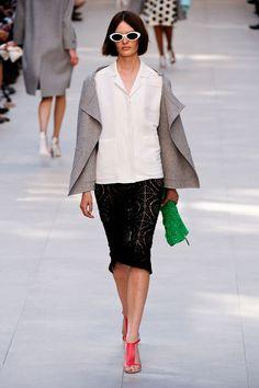 Burberry Prorsum at London Fashion Week Spring 2014 - StyleBistro