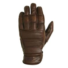 Roland Sands Ronin Gloves - Tobacco | Motorcycle Gloves | FREE UK delivery - The Cafe Racer