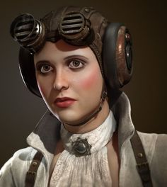 Erika's Chiquis: How to Make an Aviator Cap for Steampunk