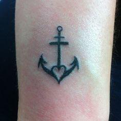Faith hope and love tattoo! Gorgeous